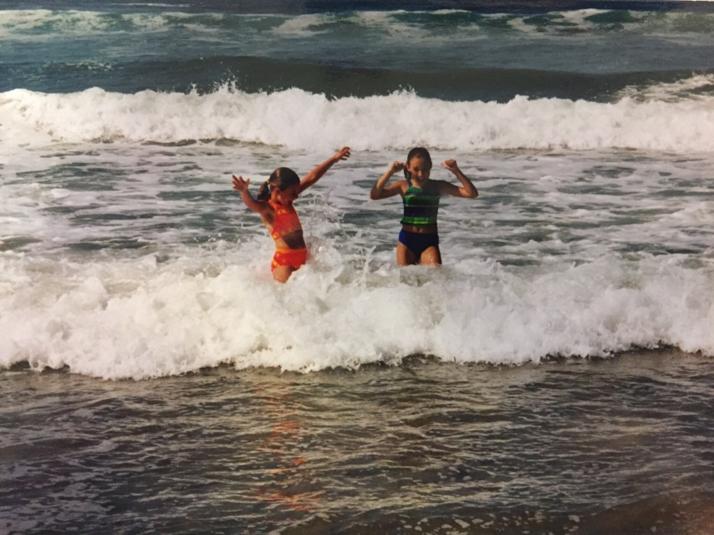 Beach daughters