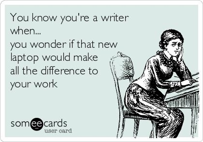writer laptop