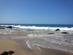 ocean waves sand beach