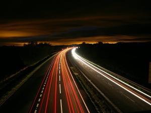 Freeway night