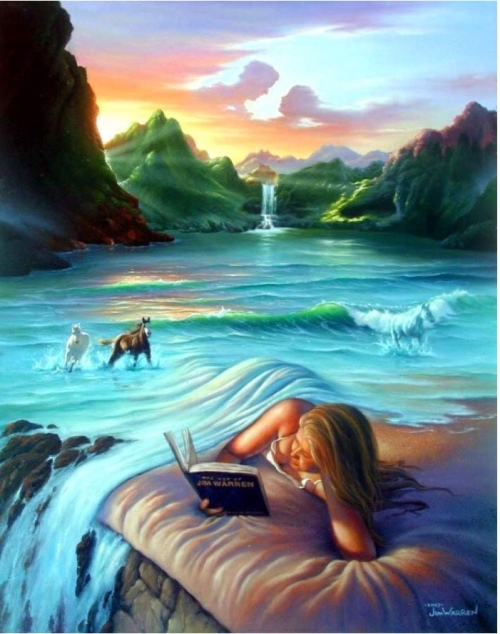 Fantasy fiction dream