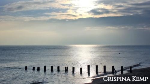 Calm peaceful sea