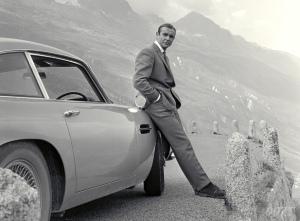 Goldfinger Bond car