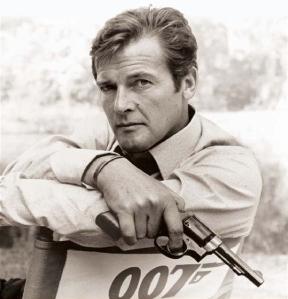 Roger Moore 007 James Bond