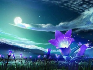 Magic sparkle flowers