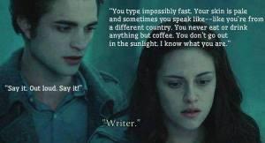 Twilight writer meme