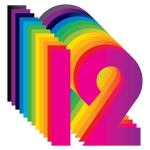 twelve 12 rainbow