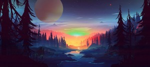 twilight stream trees