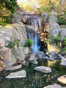 Waterfall at Golden Gate Park San Francisco